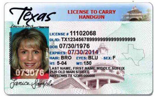 name change drivers license texas